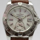 """Breitling """"Galactic 36 Automatic"""" Mother of Pearl dail"""