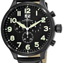 Zeno-Watch Basel Super Oversized SOS Chrono Big Date 6221-8040...