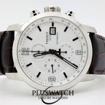 Tissot PRC 200 Automatic Chronograph Gent White Dial 44mm G