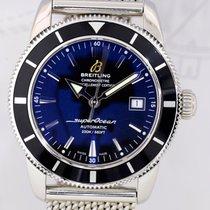 Breitling Superocean Heritage Meshband schwarz Diver 42 Klassiker