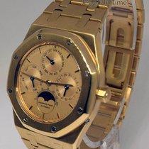 Audemars Piguet Royal Oak Quantieme Perpetual 18k Gold Mens...