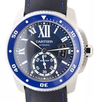 Cartier Calibre De Cartier Stainless Steel Blue Automatic...