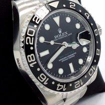 Rolex Gmt-master II 116710 Ln Date Black Ceramic Bezel Oyster...
