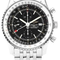 Breitling A24322 Navitimer World Chronograph in Steel - on...