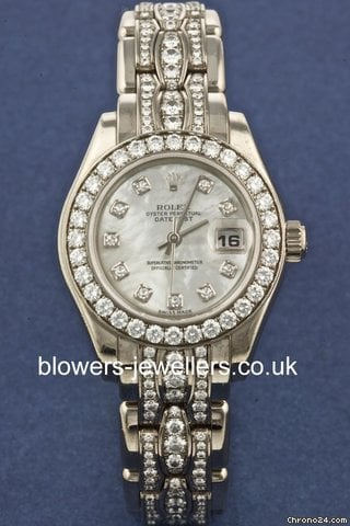 Rolex Lady Datejust Pearlmaster model 80299