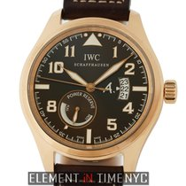IWC Pilot Collection Pilot Antoine de Saint Exupery 18k Rose...