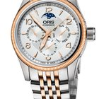 Oris Big Crown Complication, Day, Moon Phase, Rose Gold, Stl