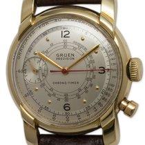 Gruen 14K YG Chrono-Timer circa 1940s