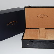 Franck Muller CROCO Leder Box, schwarz