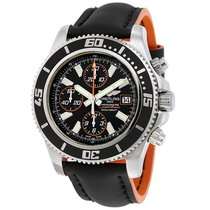 Breitling Superocean Chronograph II Black Dial Automatic...