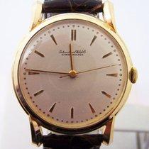 IWC 18k Gold Winding Watch 36.5mm 1960s Cal 89 ORIGINAL DIAL