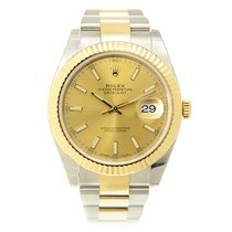 Rolex Datejust Gold And Steel Gold Automatic 126333CH_O