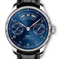 IWC Portugieser Annual Calendar - Steel - VAT INC. 22% - NEW