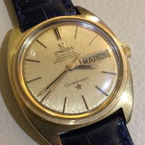 Omega Constellation DayDate vintage in oro 18 kt con scatola