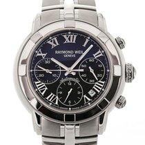 Raymond Weil Parsifal 40 Chronograph Black Dial