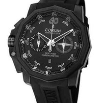 Corum Admirals Cup Seafender in PVD Coated Titanium with...