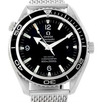 Omega Seamaster Planet Ocean Xl Mens Watch 2200.53.00 Papers