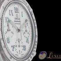 Omega Speedmaster Reduced Chronograph MOP Perlmutt Zifferblatt...