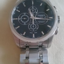 Tissot Couturier Automatik Chronograph mit Stahlband und...
