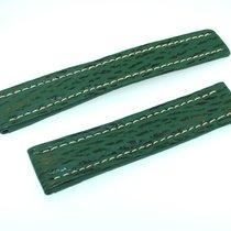 Breitling Band 20mm Green Shark Strap Correa Ib20-13