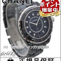 Chanel 【美品】CHANEL【シャネル】  J12 38mm 11Pダイヤ メンズ腕時計【中古】 H2124 クォーツ...