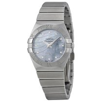 Omega Constellation Mother of Pearl Dial Ladies Watch 12310276...