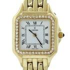 Concord Solid 14k Yellow Gold 29-62-63 Diamond Bezel Watch Box...