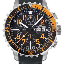 Fortis B-42 Marinemaster Orange Chronograph