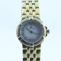 Maurice Lacroix Calypso Damen Uhr Stahl Vergoldet Quartz 30mm...