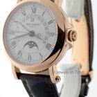 Patek Philippe Perpetual Calendar 18K Rose Gold Mens Watch Box...