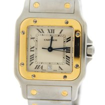 Cartier Santos 18K/Stainless Steel