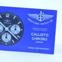 Breitling Anleitung Chrono Callisto Vintage Rar