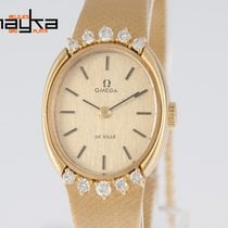 Omega Deville Yellow Gold 18k and Diamonds Caliber 625