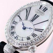 Breguet NEW Reine de Naples Mother of Pearl White Gold Diamond