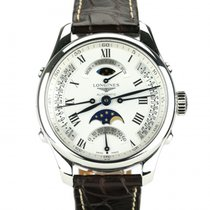 Longines Master Collection Retrograde Moon Phases.