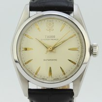 Tudor Oyster Prince Manual Winding Steel 7966