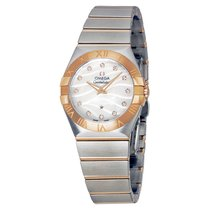 Omega Constellation Steel and Rose Gold Ladies Watch 123202760...