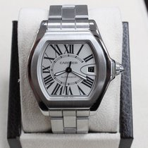 Cartier Roadster 3312 Large W6206017 Stainless Steel Silver Dial