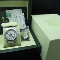 Rolex EXPLORER 2 16570 White Dial with Full Set