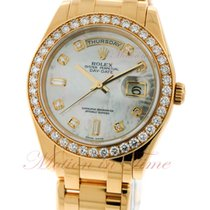 Rolex Day-Date Masterpiece, Mother of Pearl Diamond Dial,...