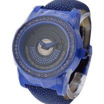 De Grisogono Tondo by Night Blue in Fiber Glass with Sapphire...