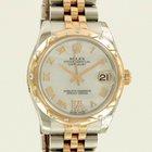 Rolex Datejust Everose Gold/ Steel/ Diamonds/ MOP Dial