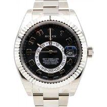 Rolex Sky-Dweller 326939 Men's 42mm Black Arabic 18k White...