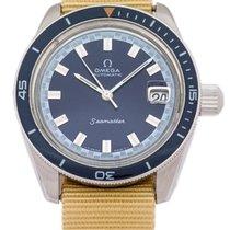 Omega Seamaster 166.062 Blue Big Crown 1971