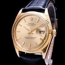 Rolex DateJust 18kt. Gold Automatic Date Ref. 1601 Box Papers...