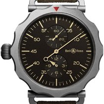 Bell & Ross Vintage Bomber Regulateur BRWW2-Regulateur