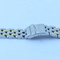 Breitling Pilotband 15mm Stahl/gold Pilot Bracelet Lady J