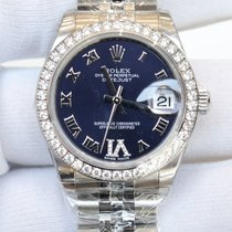 Rolex Datejust 31 watch in White Rolesor - combination of 904L...