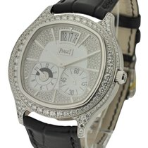 Piaget Emperador Cushion Diamond Bezel