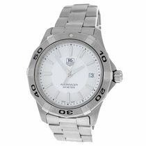 TAG Heuer Authentic Mint Men's  Aquaracer WAF1111 Steel...